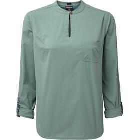 4b77f9ff53b Sherpa Ravi - T-shirt manches longues Femme - vert sur CAMPZ !